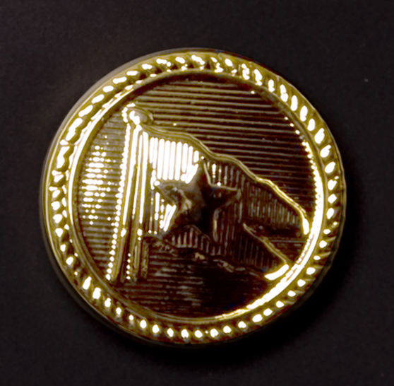 White Star Line Officers Button Pin Badge