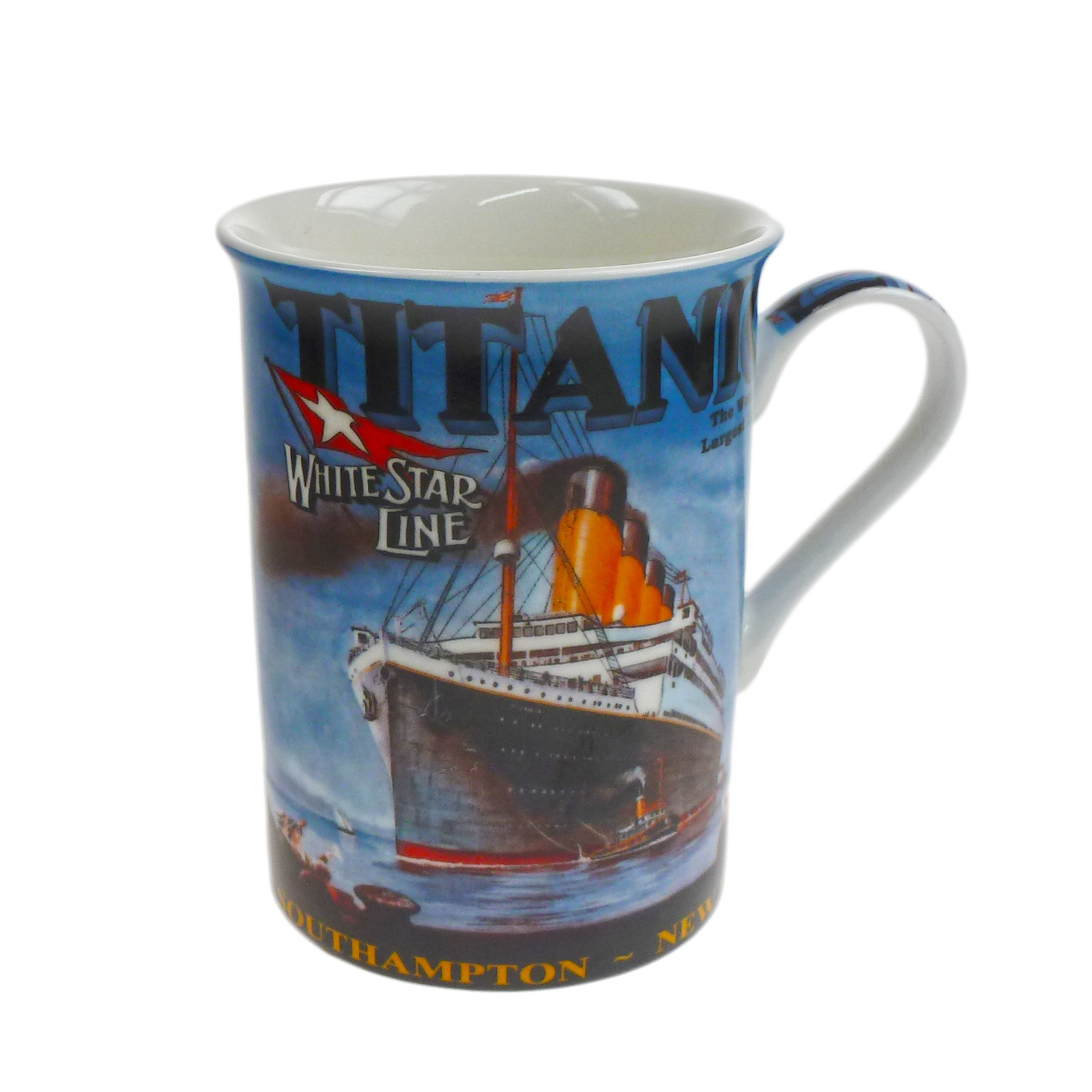 Titanic Bone China Pictorial Traditional Mug