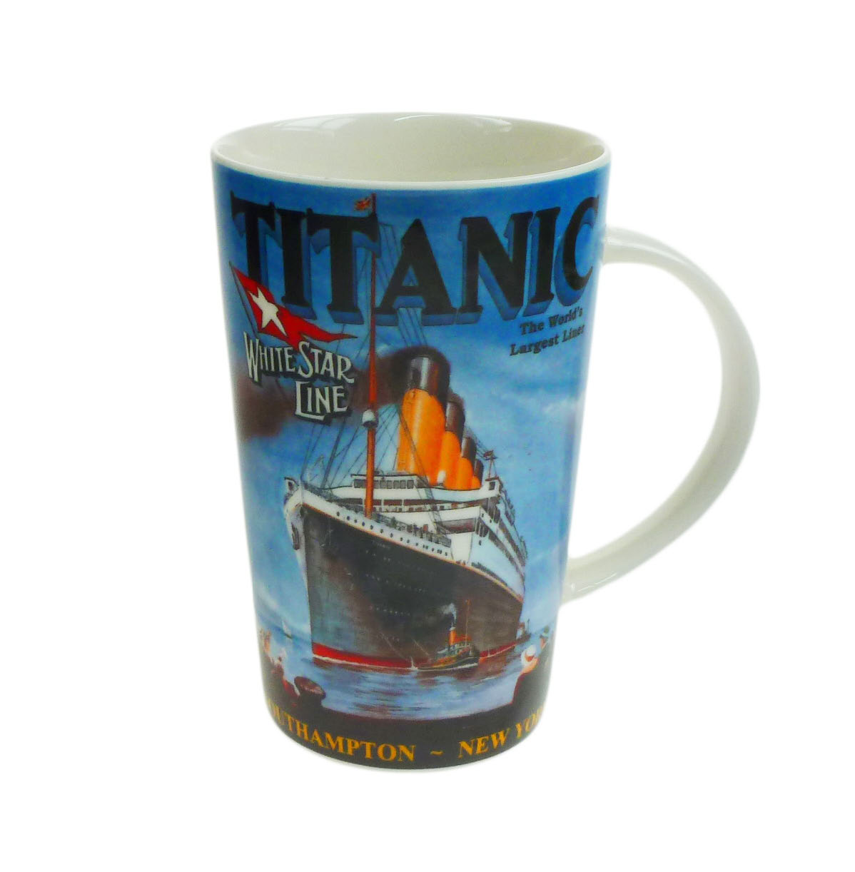 Titanic Ceramic Latte Tall Pictorial Mug