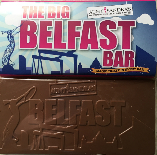 The Big Belfast Chocolate Bar - Pack of 3