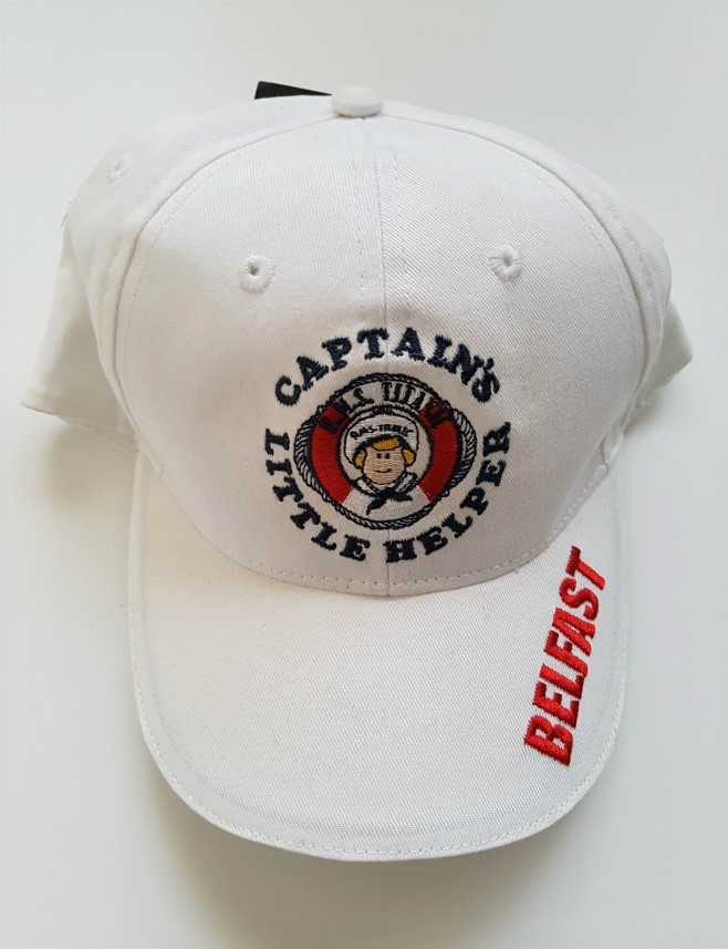 Titanic Captains Baby Base Ball Cap - White