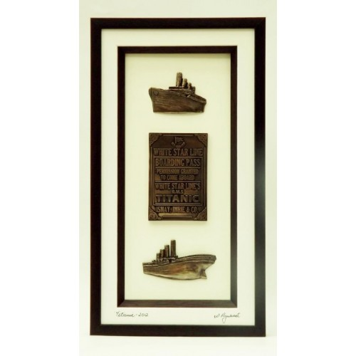 Titanic Commemoration 2012 - Teak Brown Frame