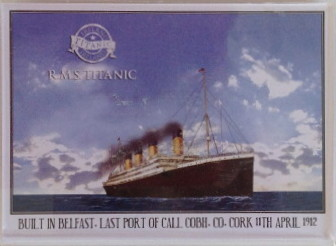 Titanic Photo Fridge Magnet