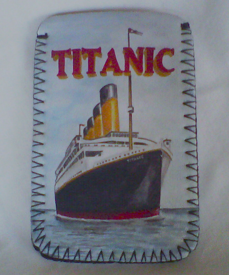 Titanic Mobile Phone MP3 Sock
