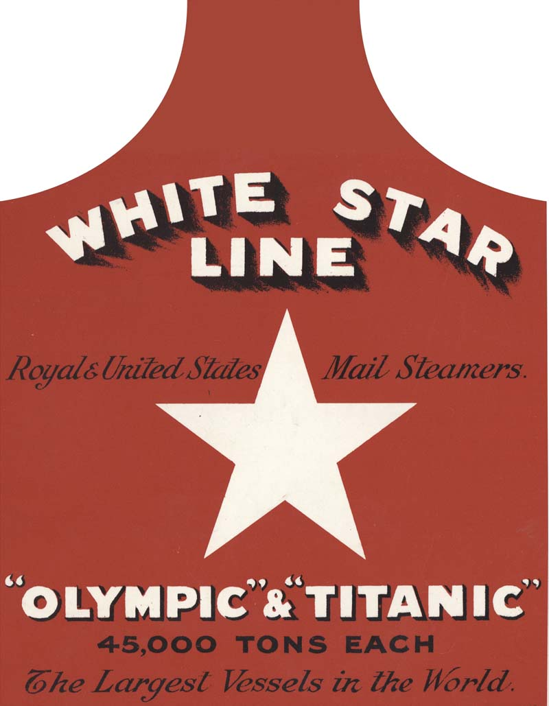 White apron ireland - White Star Line Cotton Apron