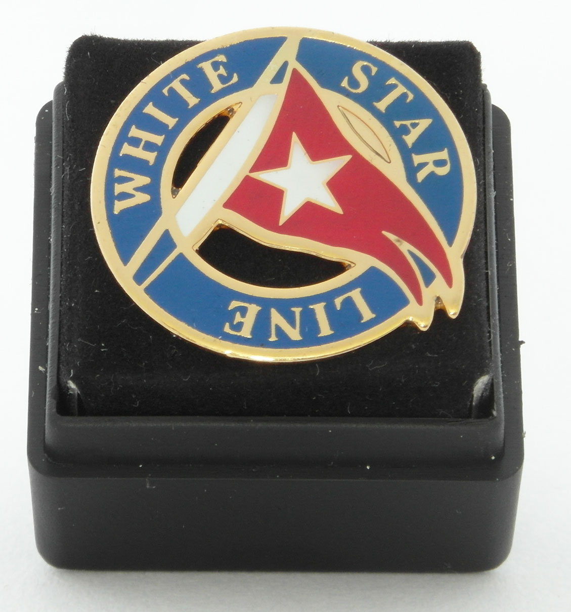 White Star Line Lapel Pin Badge