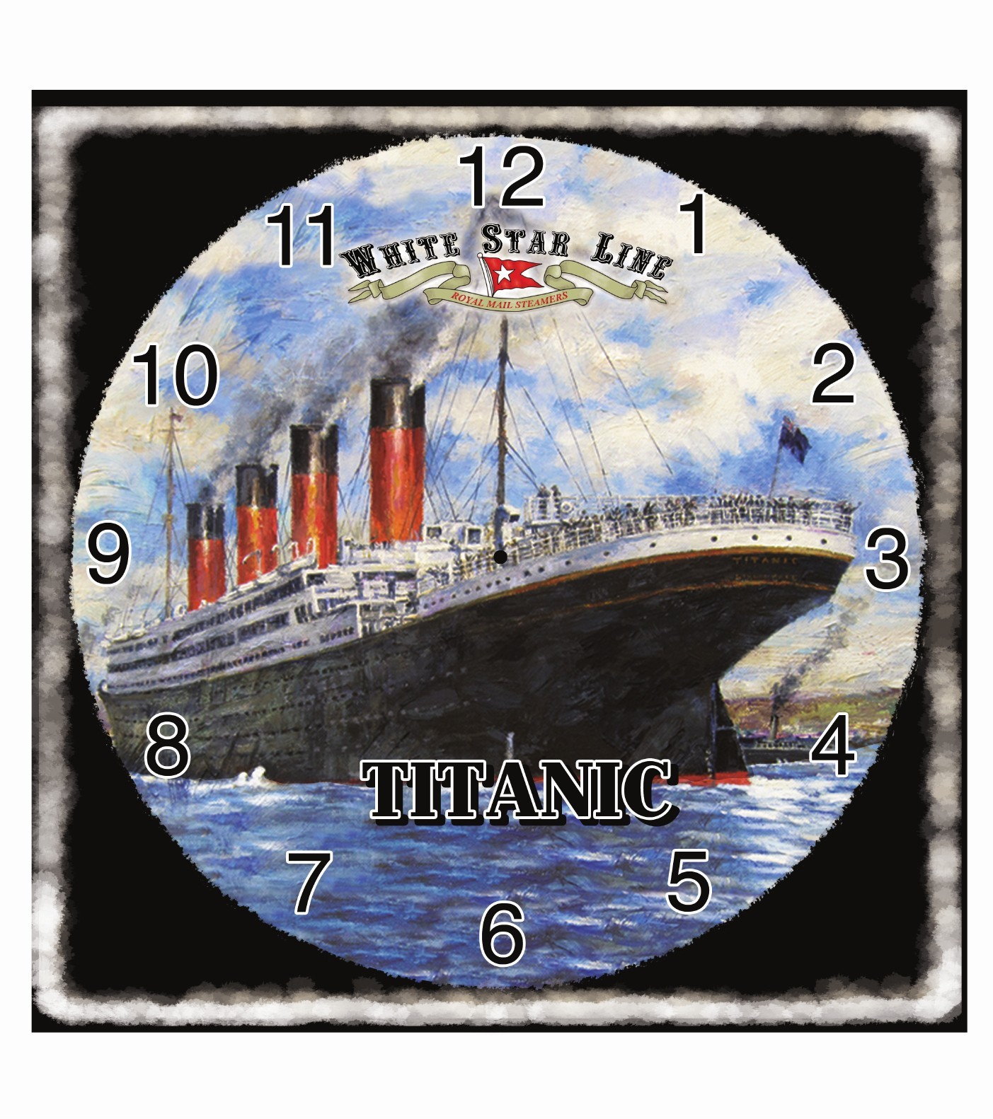 Titanic Metal Pictoral Quartz Wall Clock