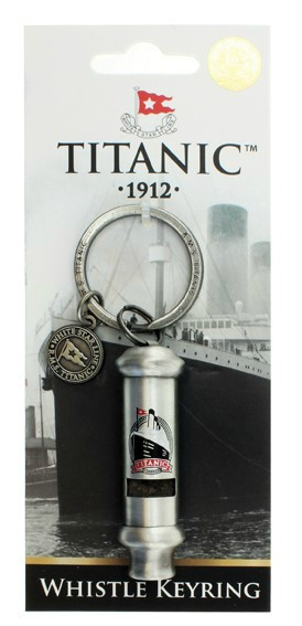 Titanic Collector's Whistle Keyring
