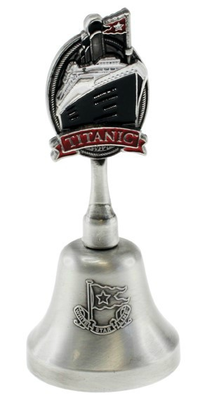 Titanic Pewter Bell