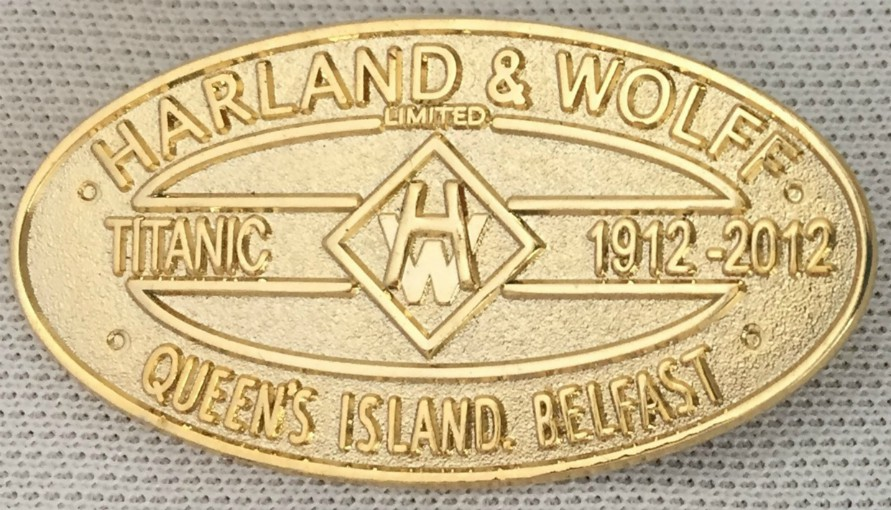 Harland and Wolff Lapel Badge