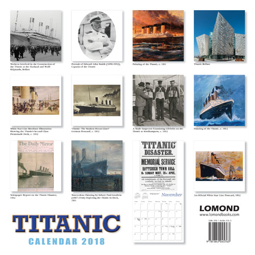 The Titanic Calendar 2018