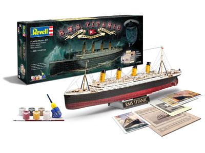 R.M.S.Titanic 100th Anniversary Edition Plastic Model Kit