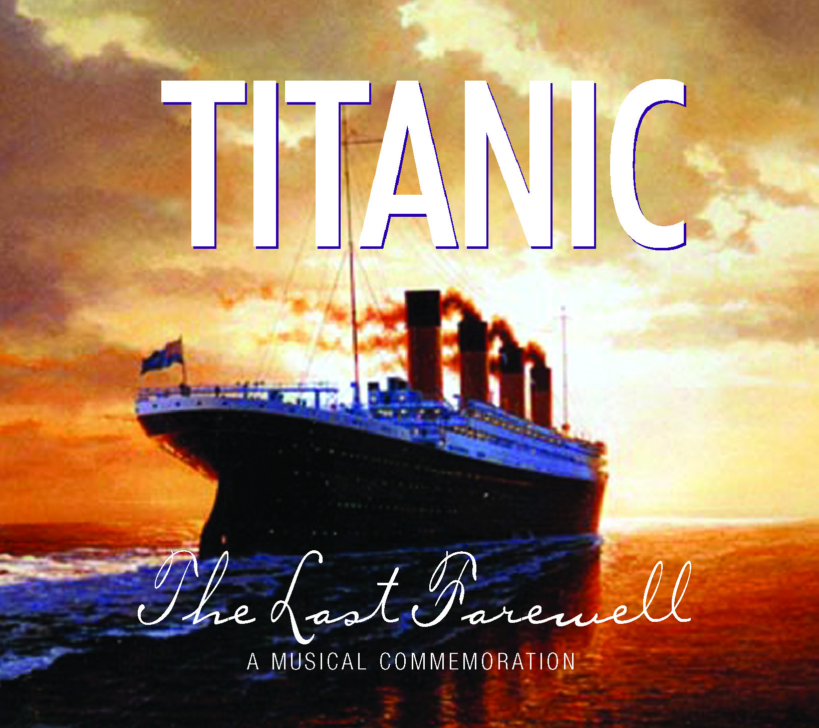 Titanic Last Farewell CD
