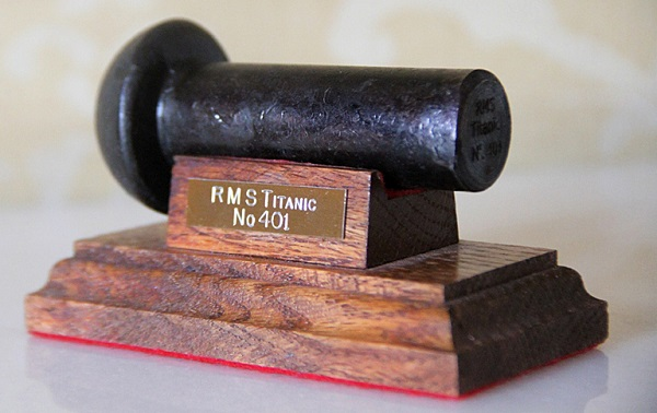 RMS Titanic 401 Premium Rivet from The Belfast Titanic Gift Shop online